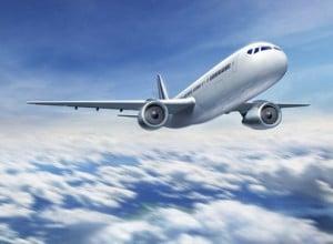 Pilot der flyver