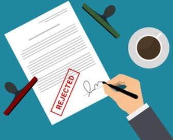Afslag på låneansøgning